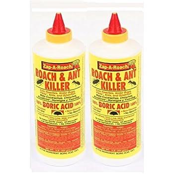 2 Pk, Boric Acid Roach & Ant Killer NET Wt. 1 Lb. (454 gms) Each