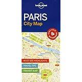 Lonely Planet Paris City Map 1st Ed.