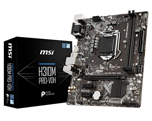 Build My PC, PC Builder, MSI H310M PRO-VDH