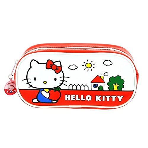 Official Hello Kitty PU Pencil Case - Vintage Hello Kitty...