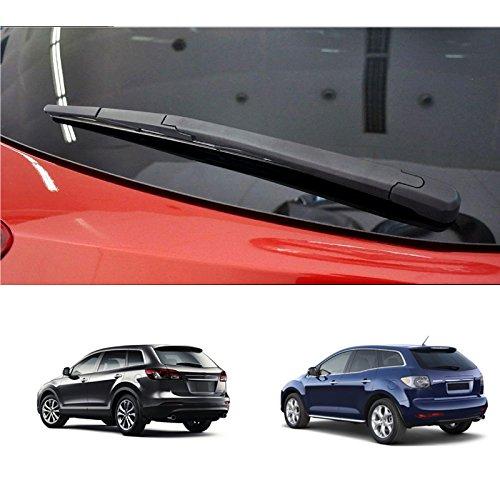 DUDU Brazo limpiaparabrisas trasero y escobilla para Mazda CX-7 2007-2012 / Mazda CX-9 2007-2015: Amazon.es: Coche y moto