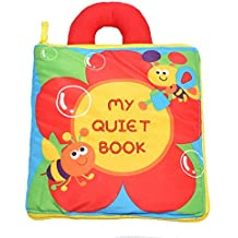 KMMall Soft Activity Books for Children Toddler Learning Story Book Life Education Sleep Books Baby Toys , Baby Book , Cloth Book