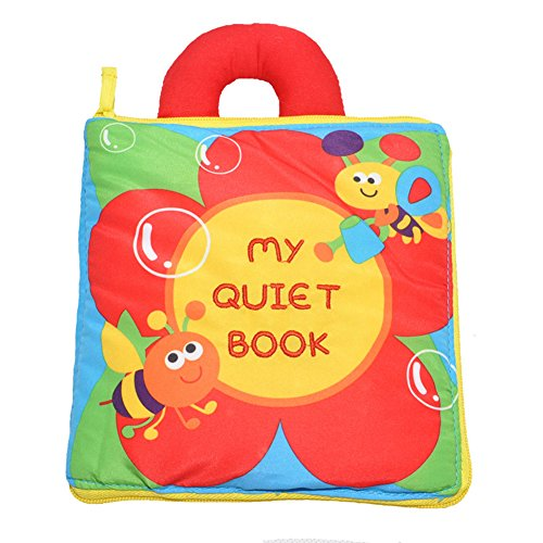 KMMall Soft Activity Books for Children Toddler Learning Story Book Life Education Sleep Books Baby Toys Baby Book  Cloth Book