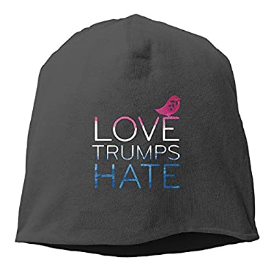 Love Trumps Hate 2016 Election Daily Beanie Hat Skull Cap (6 Colors)