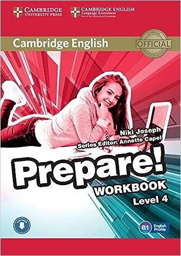 Saksalaiset äänikirjat ladataan Cambridge English Prepare! Level 4 Workbook with Audio 0521180287 PDF