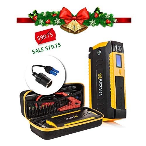 600a peak 15000mah portable car jump starter