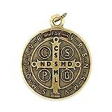 """Large Saint Benedict Medal - 2"""" Diameter"""