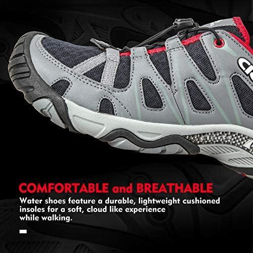Clorts Womens Water Shoes Lightweight Quick Drying Hiking Sandal Kayaking Trekking Walking 3H025-W