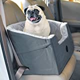 """K&H Pet Products Bucket Booster Dog Car Seat Large Gray 14.5"""" x 24"""""""