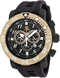 Invicta 17550 Men's Sea Base Black Polyurethane Limited Edition Watch