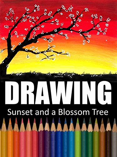 (Clip: Drawing Sunset and a Blossom Tree)