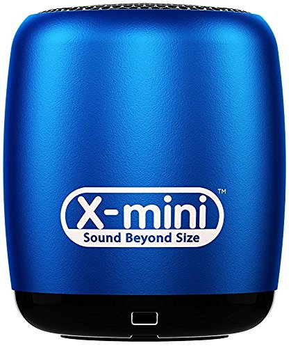 X-Mini CLICK Portable Bluetooth Speaker with Shutter Remote - Blue