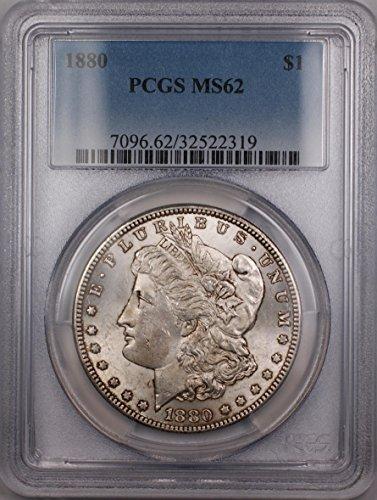 1880 Morgan Silver Dollar MS-62 PCGS