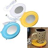 Cute USB Electronics Powered Mug Cup Warmer Heater Pad Coffee Tea Mug Pad Plate For Office