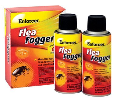 2PK 2OZ Flea Fogger by Enforcer