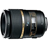 Tamron 272EP SP AF 90 mm F/2.8 Di MACRO 1:1 - Objetivo para  Canon, Nikon, Pentax, Sony  (distancia focal fija 90mm, apertura f/2.8, macro, diámetro: 55mm) negro