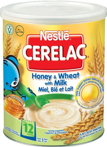 Nestle Cerelac - Honey & Wheat With Milk 400G (From 1 Year)