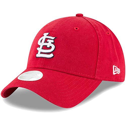 New Era St. Louis Cardinals Women's Core Classic Twill Team Color 9TWENTY Adjustable Hat ()