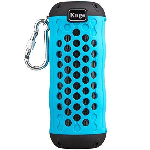 Portable Bluetooth Speaker,KINGEAR Fibk RJ76 Outdoor Waterproof Floating Bluetooth Speaker with Built In Microphone