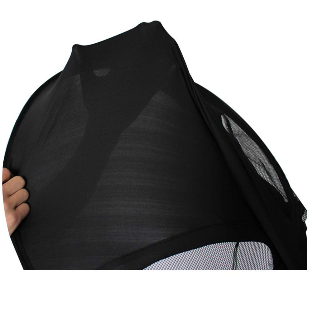 ZLMI Baby Stroller Sunshade Canopy, Universal Baby Stroller Sun Shade Awning, Toddler Pushchair Sun Shade Canopy Cover,UV Protection Infant Trolley Parasols by ZLMI (Image #6)