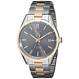TAG Heuer Men's WV215F.BD0735 Carrera Analog Display Swiss Automatic Two Tone Watch