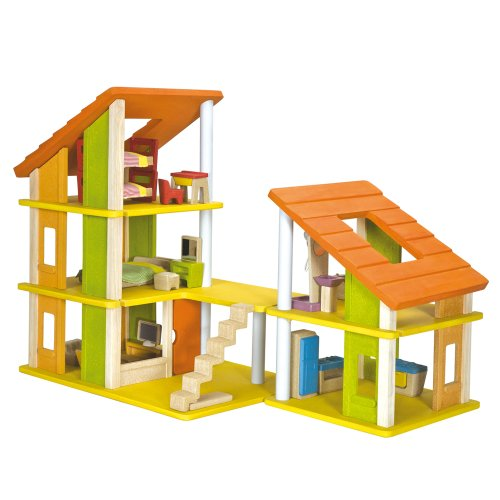 PlanDollhouse Chalet Dollhouse with Furniture (Plan Toys Dollhouse Kitchen compare prices)