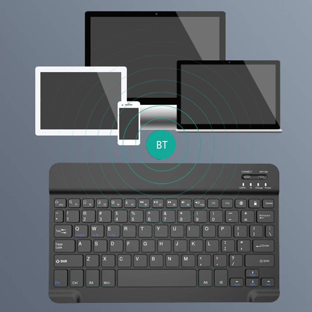 Bodbii 10 Pouces Portable Mini sans Smartphone Clavier Fil Bluetooth 3.0 Ordinateur Portable Tablet Keyboard Smartphone Clavier Universel