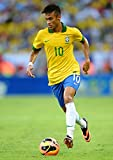 ネイマール ポスターサイズ:42x30cm 写真 Neymar FCバルセロナ Barcelona ブラジル [並行輸入品]