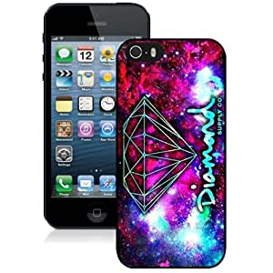 DIY iPhone 5s Case Design with Diamond Supply Co Cell Phone Case for Iphone 5 5s Generation in Black