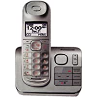 Panasonic Kx-tg3680s Cordless Handset Answering Machine Box Silver