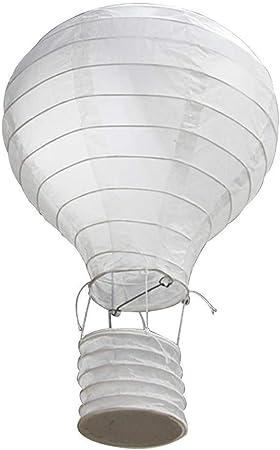 Depory Rainbow Globo de Aire Caliente, lámpara de Papel para decoración de Techo Jardín de Infantes Fiesta Decoración del hogar (9): Amazon.es: Hogar