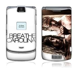 Zing Revolution MS-BRCA10098 Motorola RAZR- V3-V3c-V3m- Breathe Carolina- It s Classy Not Classic Skin
