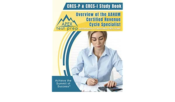 crcs p crcs i study book overview of the aaham certified revenue rh amazon com ccsp study guide crcs-p study guide