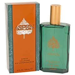 Aspen For Men by Coty is a Aromatic Fougere fragrance for men. Aspen For Men was launched in 1989. Top notes are bergamot, galbanum, green notes and lemon; middle notes are coriander, cyclamen, geranium, jasmine, lavender, juniper and orange ...