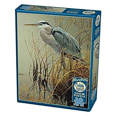 Cobblehill 85029 500 Pc Blue Heron Puzzle Vari