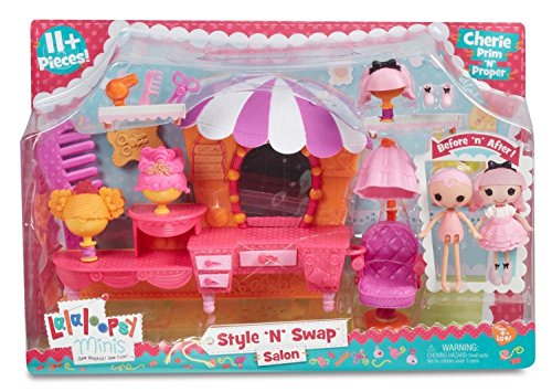 [Lalaloopsy Minis Style 'N' Swap Playset- Salon] (Wigs Au)