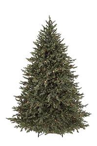 gki bethlehem lighting 7 12 foot pepvc pre lit christmas tree with 850 clear mini lights hunter fir buy gki bethlehem lighting