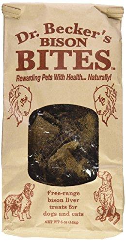 Dr. Becker's Bites - Bison Dog Treats 5 (Beckers Bites)