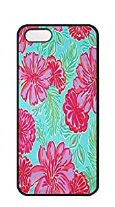 TUTU158600 Design Hard Skin Case Cover Shell for Mobilephone iphone 5 cases for teen girls - lilly pulitzer lily butterfly