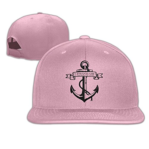 Custom Baseball Hiphop Caps I Refuse To Sink Men&women -