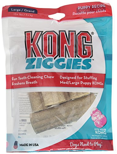 Kong Puppy Large Ziggies 8oz bag (Ziggies Dog Treats Kong)