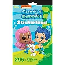 Nickelodeon Bubble Guppies Stickerland Book 290 Stickers