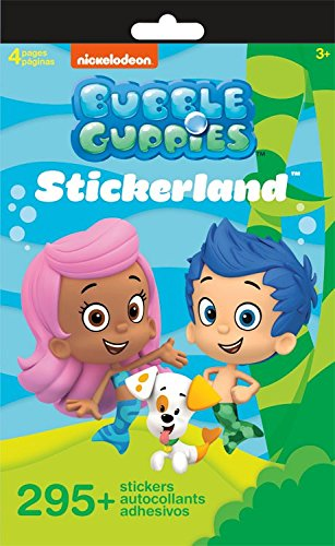 Nickelodeon Bubble Guppies Stickerland Book 290 Stickers for $<!--$4.95-->