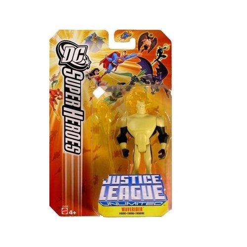 DC Justice League Unlimited Super Heroes Waverider 3 3/4