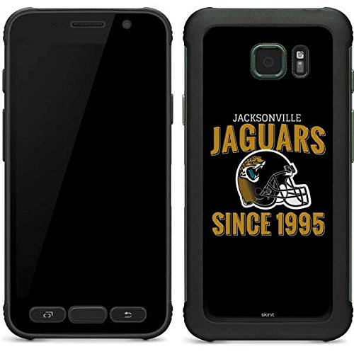(Skinit Jacksonville Jaguars Helmet Galaxy S7 Active Skin - Officially Licensed NFL Phone Decal - Ultra Thin, Lightweight Vinyl Decal Protection)