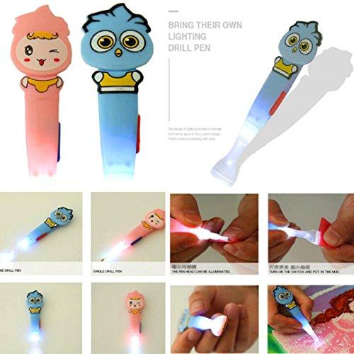 Glowing Cartoon DIY Drill Pen - Franterd Diamond