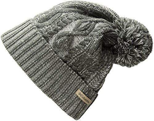 Columbia Women's Blizzard Pass Beanie, Charcoal, One Size ()