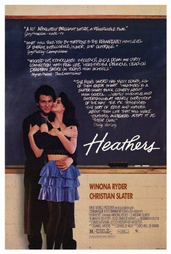 Heathers Poster Movie Winona Ryder Christian Slater Kim Walker