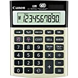 Canon LS100TSG 10-Digit Calculator, Dual Power, 4-1/8''x5-1/2''x1-1/3'', Black