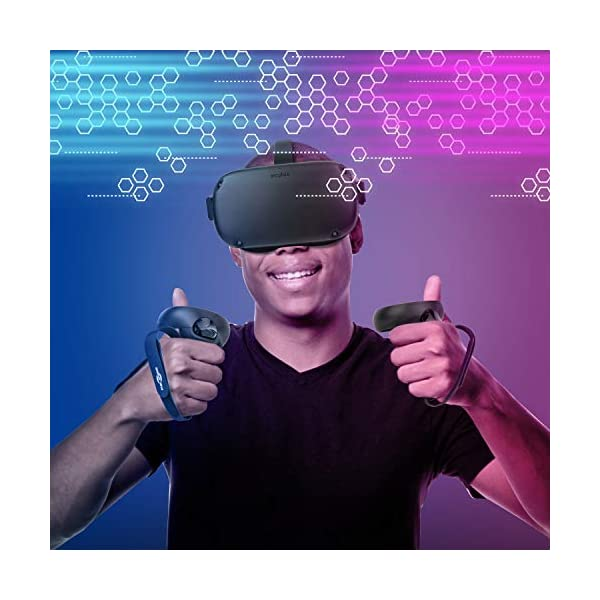 Face Silicone Cover Mask & Touch Controller Grip Cover & Knuckle Strap & Lens Protect Cover Set for Oculus Quest… 6